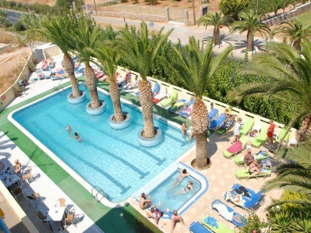 nikos hotel 2 греция malia