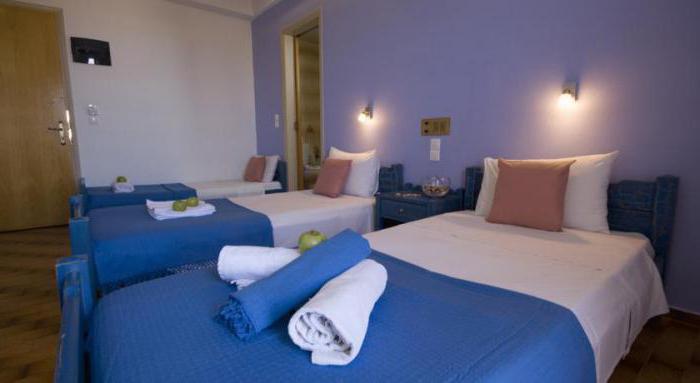 nikos hotel 2 крит