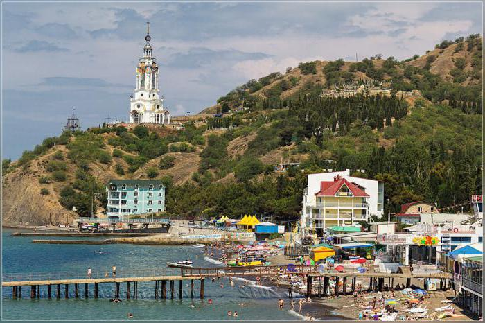 Крым Малореченское