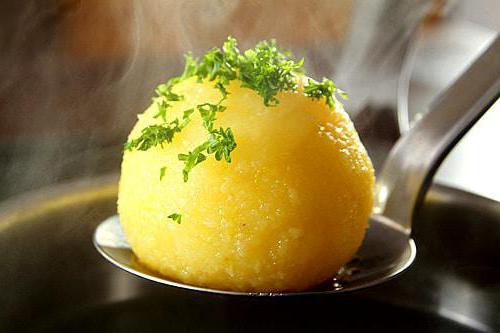 Клецки из картофеля рецепт для супа