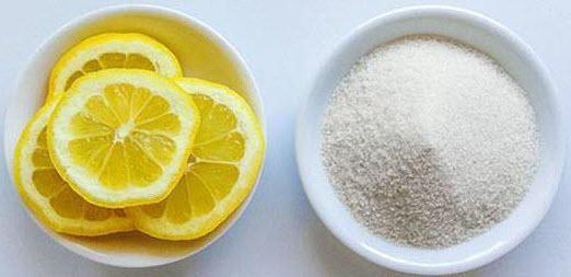 рецепт лимонов с сахаром