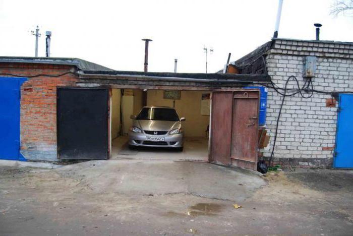 Его Оформление гаража в кооперативе Элвин, сказал