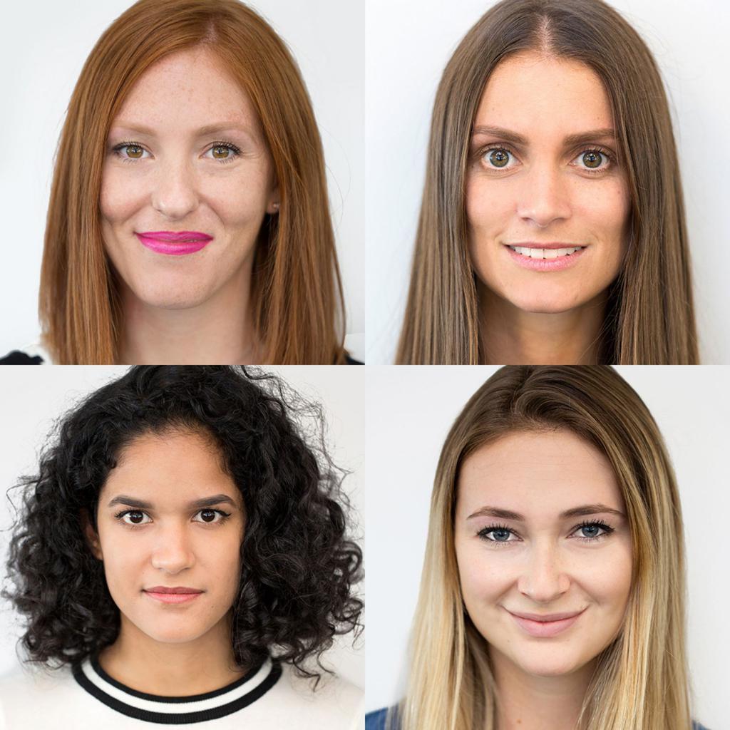 как подобрать цвет волос к лицу фото
