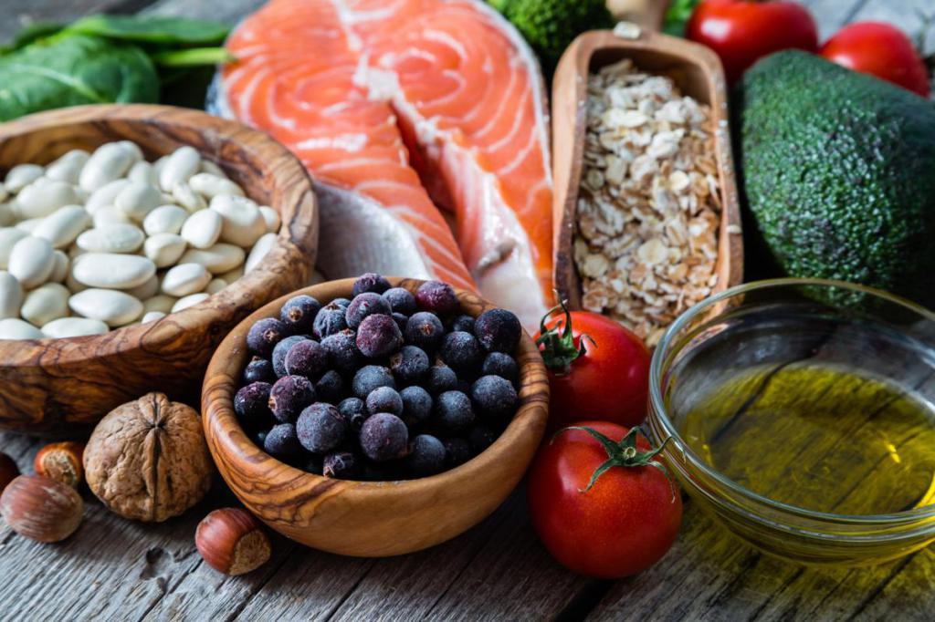 Продукты насыщенные витаминами