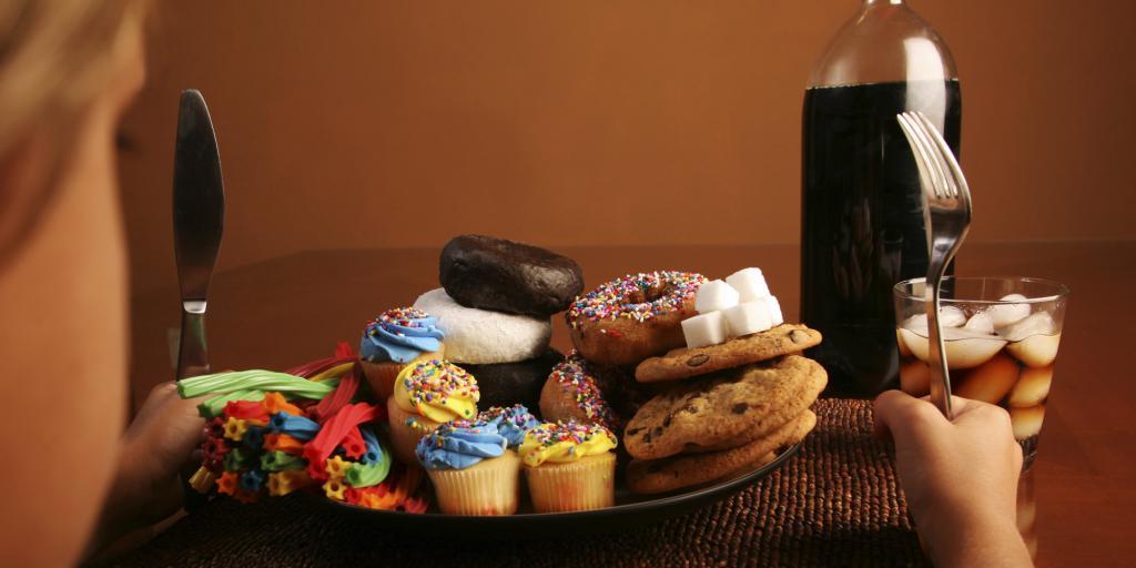 переедание сладкими продуктами