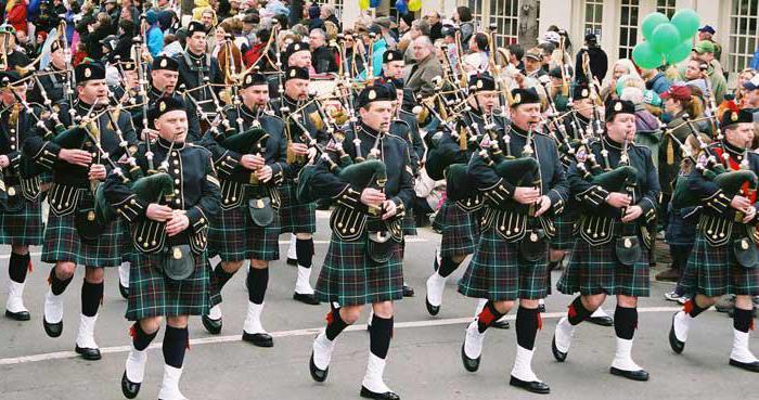 шотландский музыкальный инструмент название
