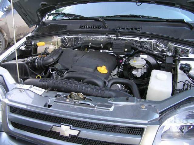 установка двигателя от приоры на ниву шевроле