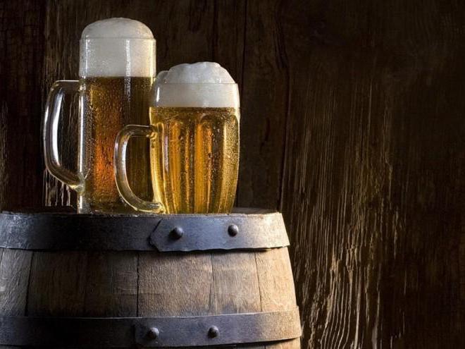 дуб и обруч пиво
