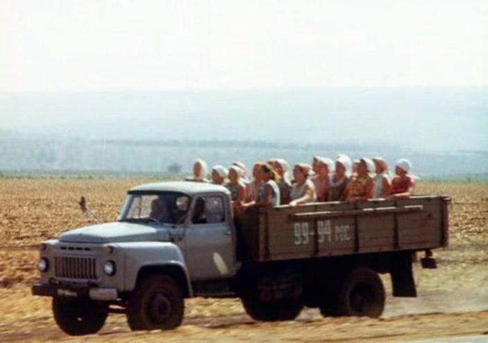 Технические характеристики самосвала ГАЗ 53