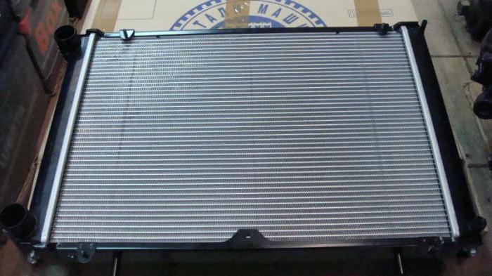газель установка радиатора