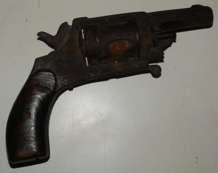 револьвер бульдог 44 калибра