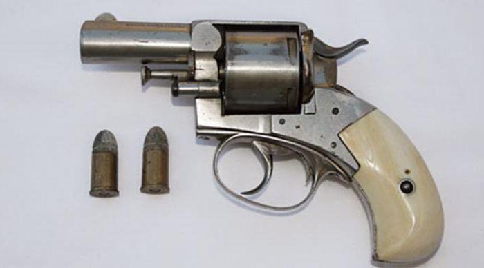 револьвер бульдог устройство