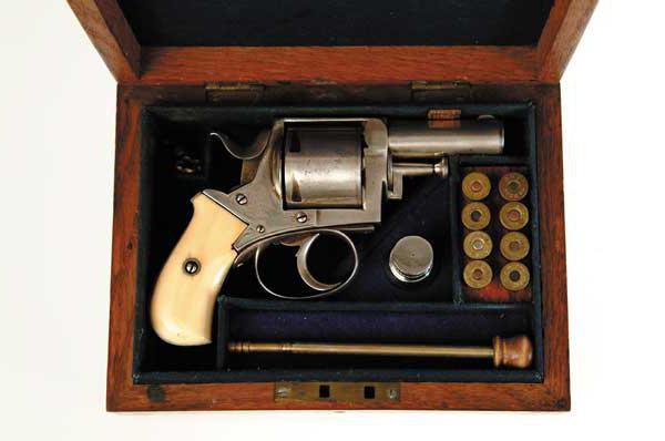 револьвер боксер бульдог устройство