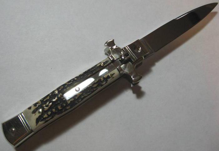 Выкидные ножи своими руками чертежи