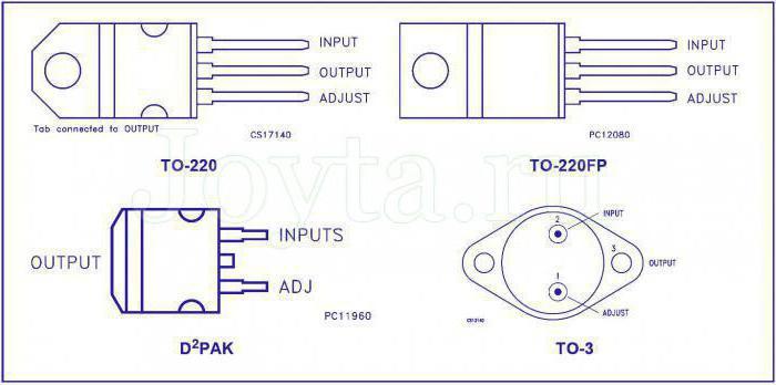 стабилизатор тока lm317