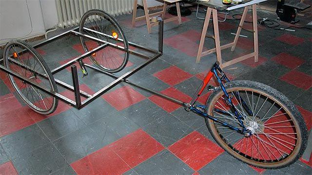 трехколесный велосипед взрослый своими руками