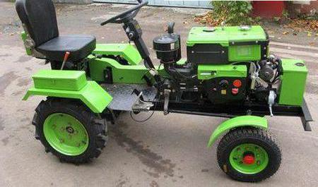 переделка мотоблока в трактор