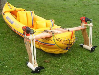 водомет на лодку пвх своими руками