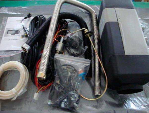 автономный газовый отопитель салона