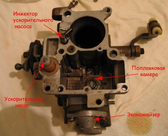 Схема карбюратора pierburg 2e