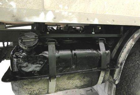Дополнительный топливный бак: установка, особенности