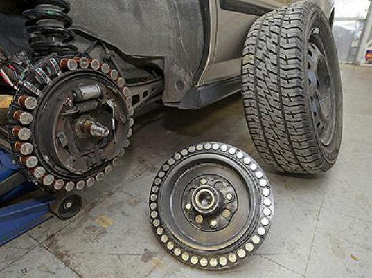 Схема мотор-колесо дуюнова