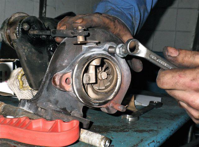 ремонт турбины своими руками
