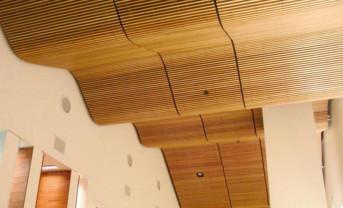 светильники в реечный потолок для ванной