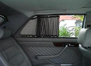 шторки в машину