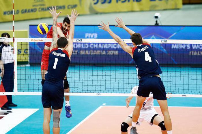 основные нарушения правил игры в волейбол