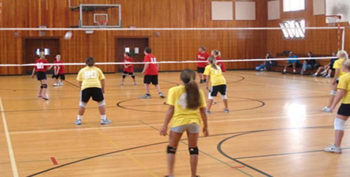 основные правила игры в волейбол