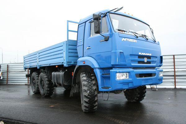 Характеристики авто КамАЗ-43118