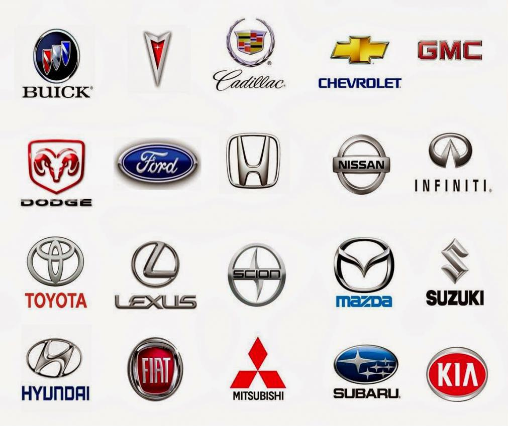Картинки названия и эмблемы автомобилей с пробегом