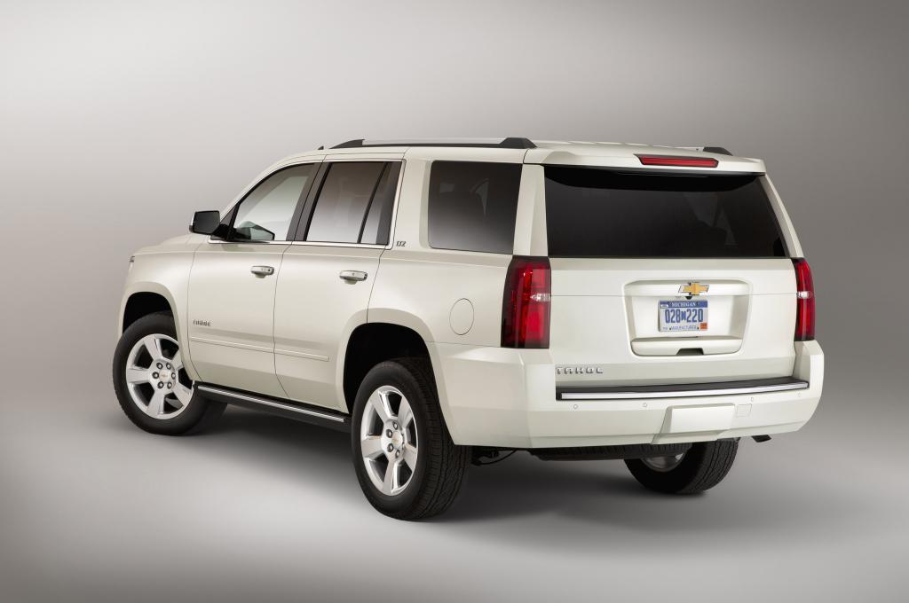 New version of the car Chevrolet Tahoe