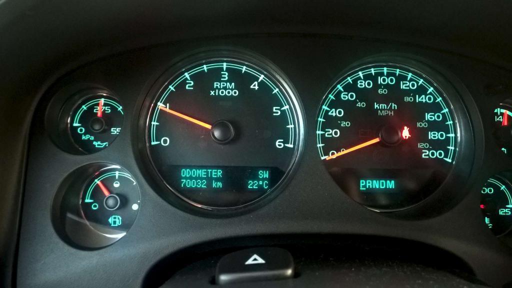 Chevrolet Taheo dashboard