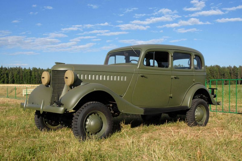 Photo cars GAZ-61
