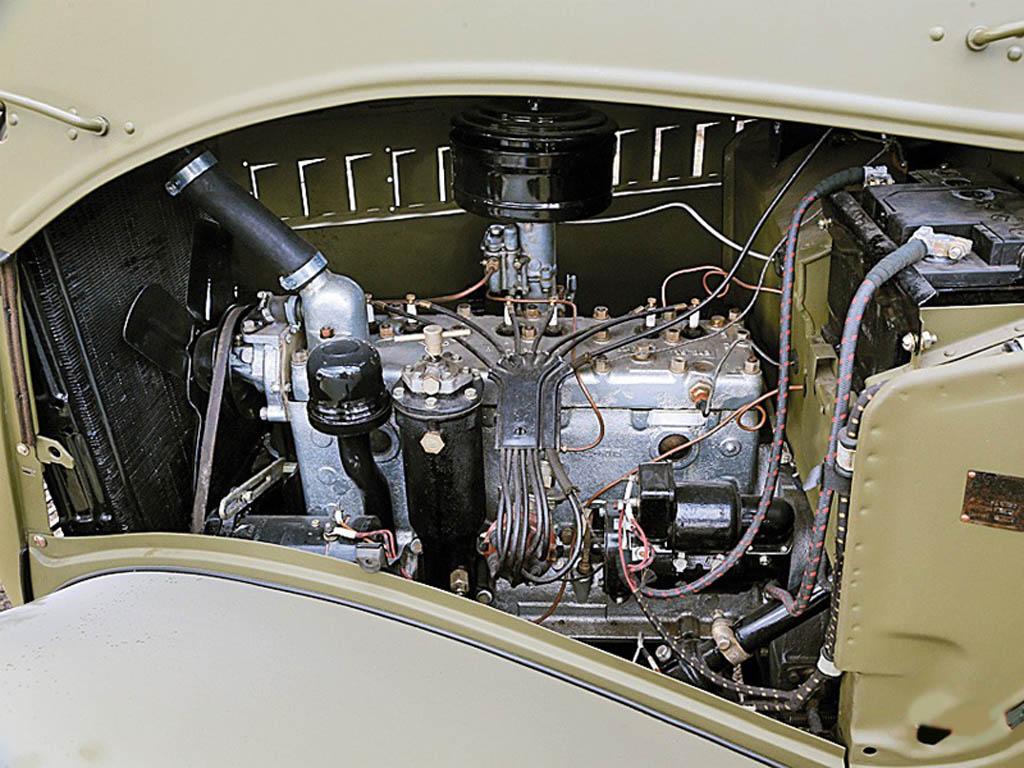 GAZ-61 car engine