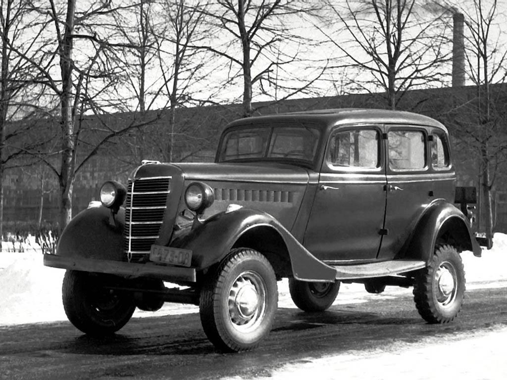 GAZ-61 car