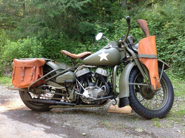 Британский военный мотоцикл