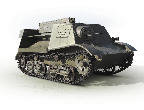 Легкий артиллерийский тягач