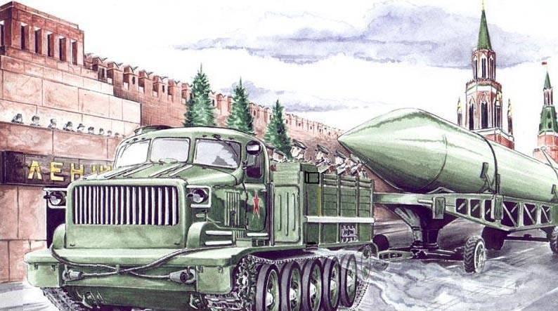 Советский артиллерийский тягач