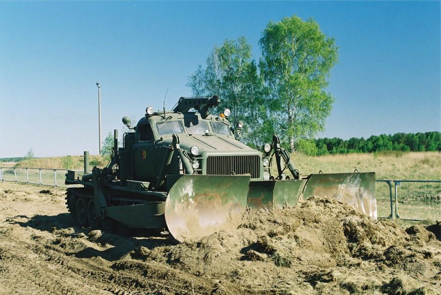 Модификация среднего артиллерийского тягача