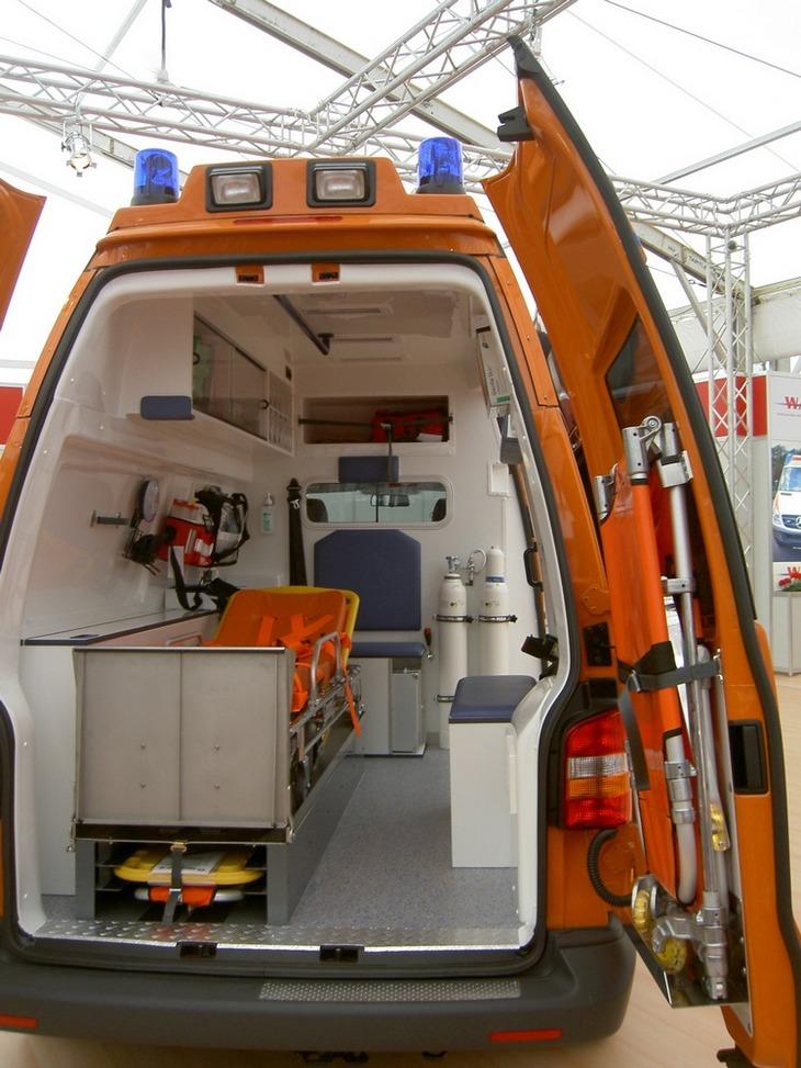 Оснащение автомобилей скорой медицинской помощи