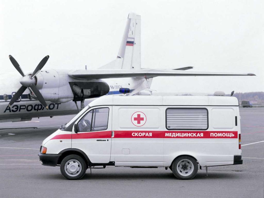 Автомобиль скорой медицинской помощи ГАЗ