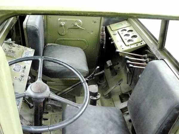 Кабина МАЗ-538