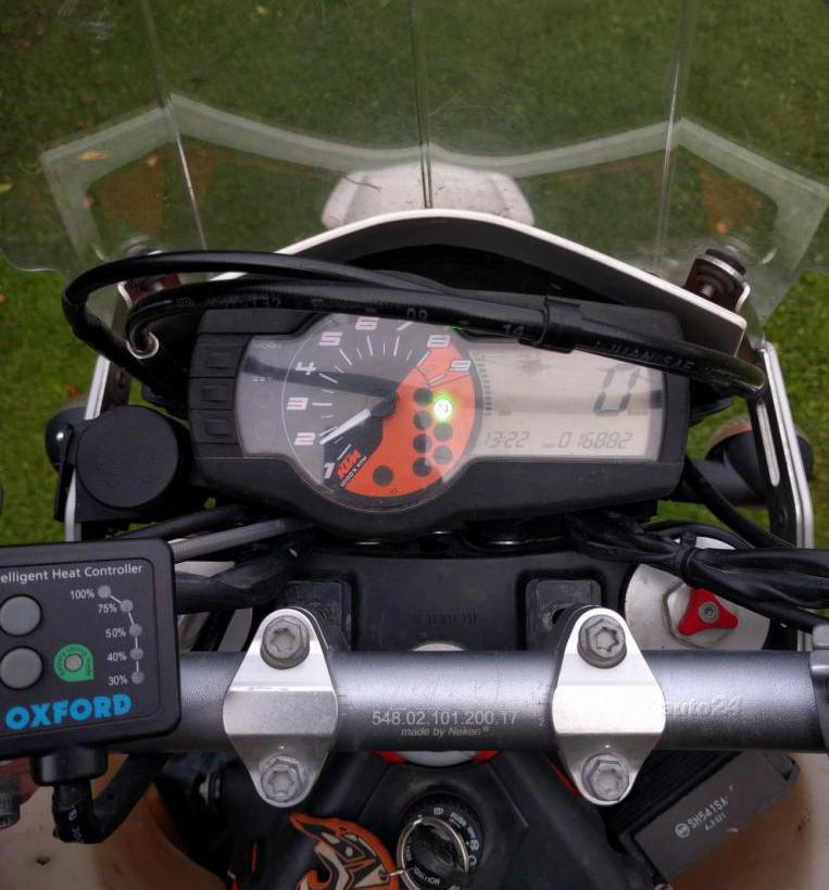 Рулевая панель КТМ
