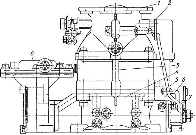 Схема карбюратора ЗИЛ-130