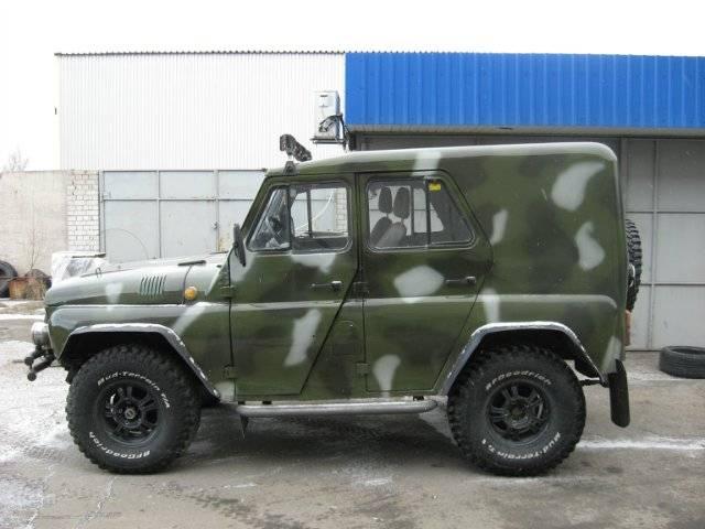 Тюнинг УАЗ дизель