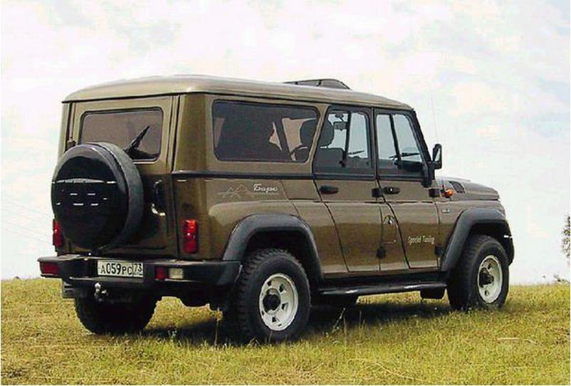 Отечественный автомобиль УАЗ