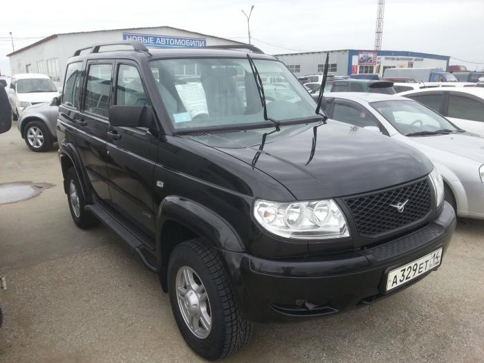 Модернизированный УАЗ дизель